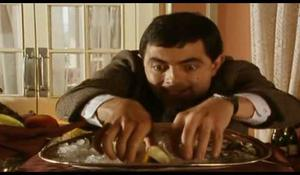 Mr. Bean na obede