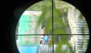 Sniper na paintballe