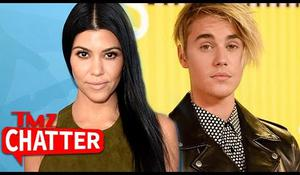 kourtney - justin bieber?