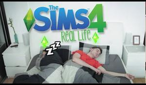 THE SIMS 4 IN REAL LIFE!