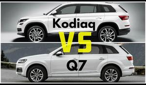 Škoda Kodiak vs Audi Q7