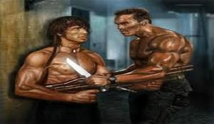 John Rambo vs John Matrix