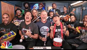 Jimmy Fallon a Metallica