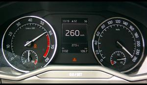 Škoda Superb 260km/h