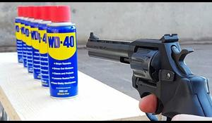 Experiment - zbraŇ vs. WD 40